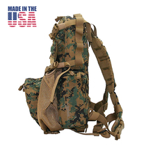 U.S.-made military version of the original EAGLE MARCOS paratrooper airborne tactical backpack army fans outdoor water bag attack bag.