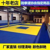 Direct non-slip taekwondo mat 1 meter high density thickened training foam sports mat gym Sanda