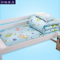 Kindergarten Quilt Three pieces set six pieces containing core removable cotton baby Dong sleeping bedding cotton baby Bed Products