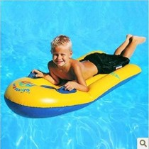 Children with single children carrying large floating board floating boat swimming increase drifting surfboard swimming ring