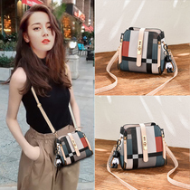 Texture small bag ladies 2019 on the new tide autumn and winter Korean version of the wild ins fashion shoulder messenger bag