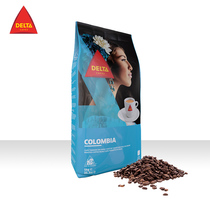 DELTA STA COFFEE COLOMBIAN ORIGIN COFFEE BEANS 1KG HAND-PUNCHED CONCENTRATE PORTUGAL IMPORTED