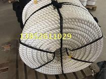 2018 high strength marine cable 30mm high strength nylon rope scenic guardrail rope cable cable three-strand polyester rope