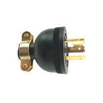 Huanyang huanyang meizhao European plug industrial plug three-phase four-wire five-hole waterproof plug 16A450V