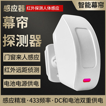 Split welcome infrared curtain transmitter welcome detector alarm detector
