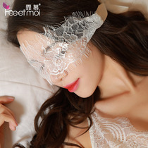 Lace goggles veil fun couple flirting sm sexy mask alternative adult bundle bracelet hand ring mask