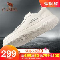 Camel mens shoes 2019 new casual shoes mens summer breathable white shoes sports wild shoes male Korean version of the tide