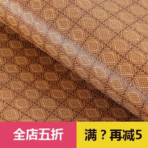 Summer mat rattan mat 1 5 m folding student dormitory mat single 1 2 mats double bed 1 8m