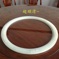Round table table turntable base rail circle plastic turntable shaft turn core hotel rotator universal
