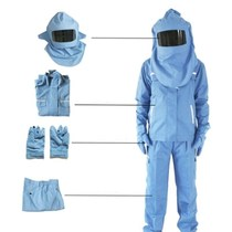 Anti-arc clothing anti-arc Mask Face screen gloves helmet pants power overalls grid clothing shirt