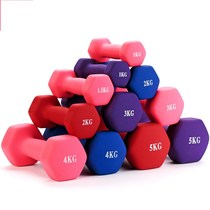 Wrist dumbbell girls single wear-resistant shops summer casual childrens ladies carry Bell non-slip small hexagonal