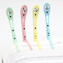 led reading lamp caught in the book of the eyesight folding reading lamp lamp clip easy to clip on the book of the child