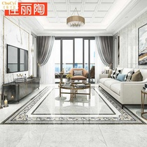 Modern minimalist parquet floor tiles 400x800 living room hallway hallway anti-skid wear art tiles