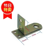 Student dormitory drawer lock bedroom drawer anti-theft concealed lock nose right angle door buckle door nose