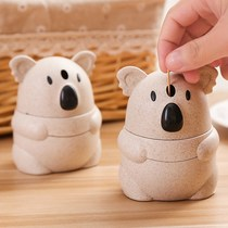 Cartoon koala toothpick tube hand pressure automatic creative cute toothpick box home simple living room toothpick can portable