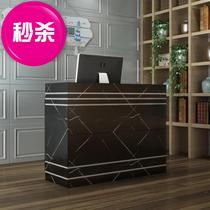 Cashier small simple commercial shop k new bar wooden hall tea bar catering computer nail table wine