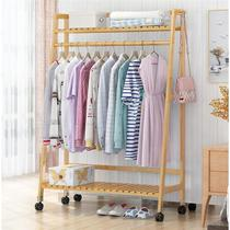 Coat rack simple hanger floor space bedroom home room storage hanging clothes rack simple and modern