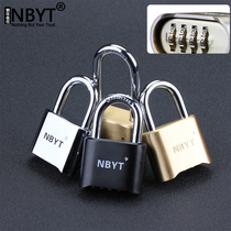 Nbyt armouring plus hard password lock padlock warehouse door garden door large iron dormitory door anti-theft large lock
