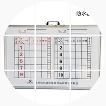 Indoor and outdoor goalball scoreboard magnetic buckle Goalball Scoreboard scoring card door goal ball game dedicated scoreboard