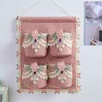 New large-capacity fabric storage bag hanging bag bedroom finishing storage bag wall hanging door hanging storage artifact