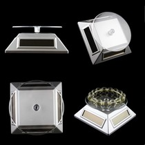 Mirror mini small jewelry products photo props electric rotary display table turntable base display stand