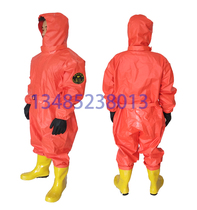 Light semi-sealed anti-chemical clothing ammonia protective clothing liquid ammonia fire cold storage chemicals acid and alkali connected anti-control clothing