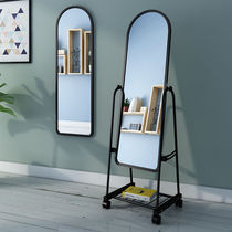 Dressing mirror home full-body mirror floor mirror dormitory wall wall mirror mirror bedroom large mirror clothing store mirror