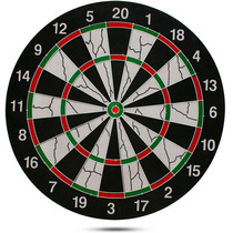 Dart set double flocking adult professional competition indoor home fly dart target with 6 darts 17125