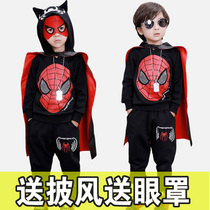 Halloween childrens clothing boy suit spring and autumn male Spider-Man cosplay Batman kindergarten costume