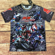 Racing T-shirt off-road motorcycle suits Knight short-sleeved T-shirt motorcycle clothes riding short T Street Speed Down T-shirt