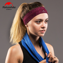 NH move customers outside the sports headband antiperspirant headband men and women headband sweat band running hair band basketball headband hair