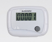 Children adult simple counter pedometer with skipping jump jump ball and other fitness equipment