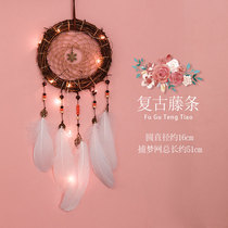 Dream catcher female indoor Bell decoration pendant shop to fill the air in the bedroom to catch the net girl heart ins ornaments