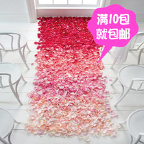Wedding Room Decoration supplies wedding wedding proposal simulation rose petals birthday arrangement manufacturing romantic fake petals