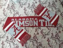 NCAA Alabama University Red Wave team fan Memorial Scarf official custom original single flag ball waist Olive