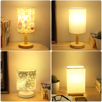 Small table lamp dormitory bedroom decoration home bedside lamp Nordic ins girls simple creative cartoon cute romantic