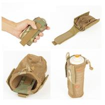Outdoor kettle bag bag folding storage kettle net bag insulation water cup bag waist hanging shoulder bag accessory bag small bag