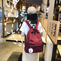 Vintage girl girl bag female Korean version of Harajuku ulzzang high school students ins wind Junior High School shoulder bag small fresh