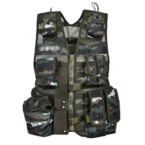 The new 13 type combat carrying back with woodland tactical vest camouflage vest individual training with a bag