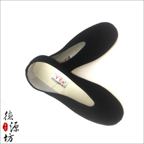 Film and Television Costume shoes hanfu mens shoes martial arts scholar Childe flat opera comfortable standard black cloth shoes