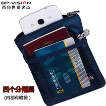 Sac voyage Wallet Stealth petit téléphone portable Outdoor oblique transporter Document paquet stockage paquet multifonctionnel version coréenne