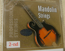 (Timothy) AM04 2 string a group (two) mandolin string single string stainless steel mercerized string