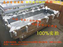 High-quality Yongan brand machine all stainless steel air-cooled ice coffin crystal ice coffin frost-free ice coffin into the shop courtesy.