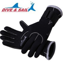 3MM diving gloves adult men and women non-slip anti-cut winter swimming underwater warm hand webbed snorkeling equipment