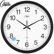 Compaq 16-inch wall clock living room bedroom clock mute simple fashion hanging table wall clock quartz watch