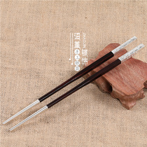 Chopsticks jewelry handmade bag chopsticks gift chopsticks mahogany Ebony bag chopsticks gift