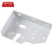 Outdoor canopy accessories retractable awning thickened mounting plate awning fixed iron plate canopy paint tray