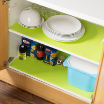 Can be cut moisture-proof anti-oil cabinet mat drawer mat non-slip mat wardrobe mat washable