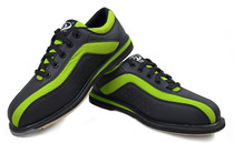 New specials PBS professional bowling shoes sports Tide right-handed bowling shoes men and women green black