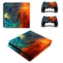 Sony PS4 SLIM sticker corps autocollants ps4 new slim douleur autocollants film la couleur des autocollants pour envoyer poignée autocollants 30